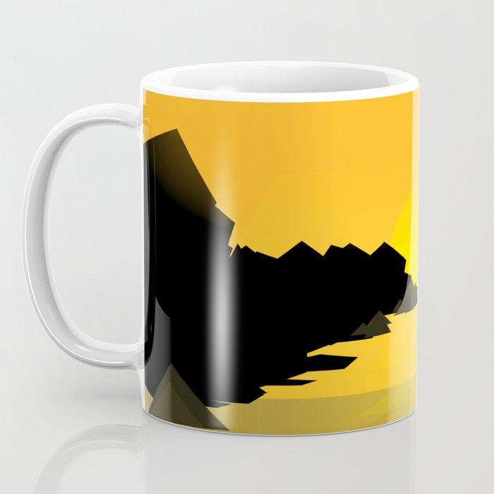 Sunset on the sea Coffee Mug