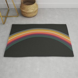 one day – prismatic (can pair with bonfire) Rug