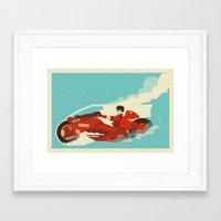 akira Framed Art Prints featuring Akira by Danny Haas