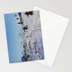 very severe winter... Stationery Cards