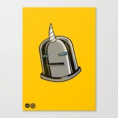 Yeticorn Comic Heroes series: Iron Maaaaan Canvas Print