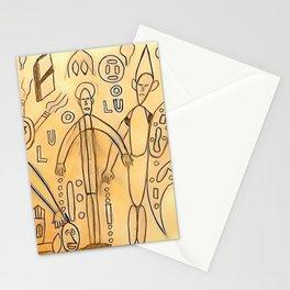 The mocking Stationery Cards