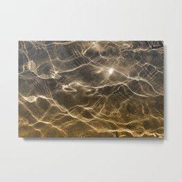 Golden Reflection 0311 Metal Print