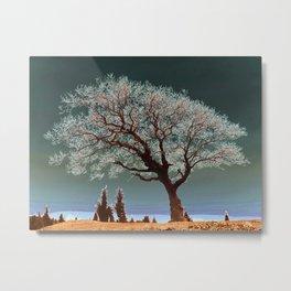 Spiritual Tree Metal Print