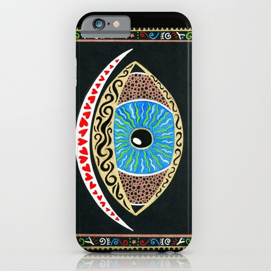 The eye sees all iPhone & iPod Case
