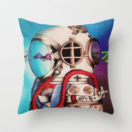 Collision Throw Pillow