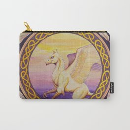 The Guardian - Celtic Griffin mandala Carry-All Pouch