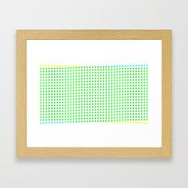 noWhitespace Framed Art Print