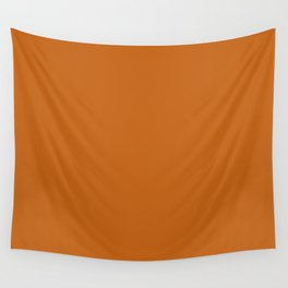 Autumn Maple | Pantone Fashion Color | Fall : Winter 2017 | New York | Solid Color | Wall Tapestry
