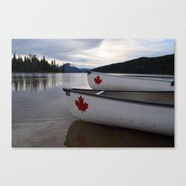 Way Up North - Bowron Lakes, BC, Canada Canvas Print