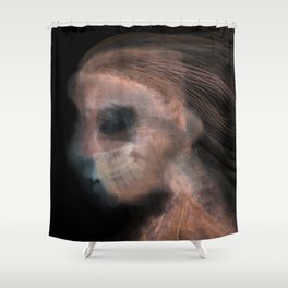 Ghost 01 Shower Curtain