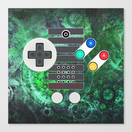 Classic Steampunk Game Controller Canvas Print