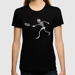 Calavera playing Tennis T-shirt
