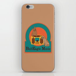 BullEagle Music iPhone Skin