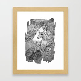Look Into My Eyes, 2012 Framed Art Print