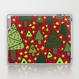 Small Trees Laptop & iPad Skin