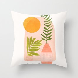 The Bright Side / Window Series Throw Pillow