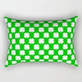 Clover Tited Rectangular Pillow
