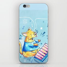 Keyboard Cat Says Thank You iPhone Skin