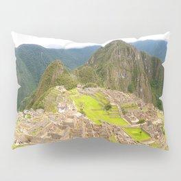machu picchu panorama Pillow Sham