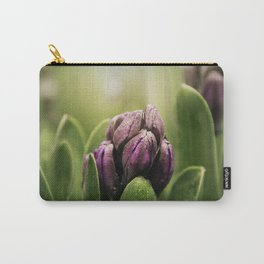 Hyacinths in Dew Carry-All Pouch