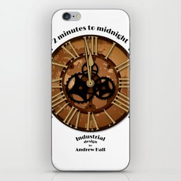 2 Minutes to Midnight iPhone Skin