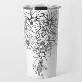 chlorophyll clots (white) Travel Mug