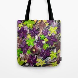 """""""Flowers of Autumn"""" by Pavel Pleskot Tote Bag"""
