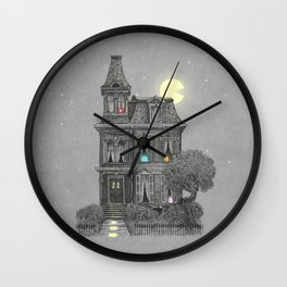 Haunted by the 80's Wall Clock