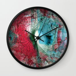 The forms suggest resting on laurels stubbornly... [EDIT] Wall Clock