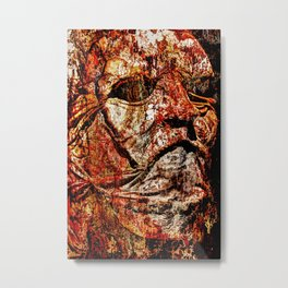 Meat Leatherface Metal Print