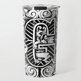 """""""G"""" Travel Mug"""