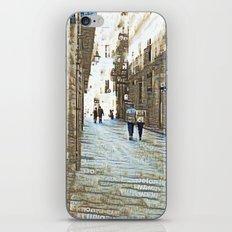 Barcelona digital street photography + Dreamscope iPhone & iPod Skin