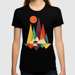 Bear In Whimsical Wild T-shirt