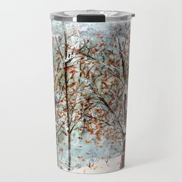 Snow Storm up Dewdrop Holler Travel Mug
