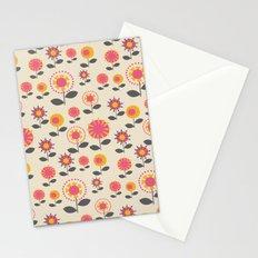 Floral Flight Pink Stationery Cards