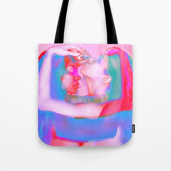 Neon Females Tote Bag