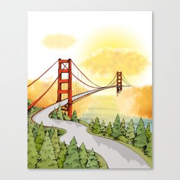 San Francisco Horizon Canvas Print