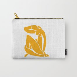 Matisse in Gold Carry-All Pouch
