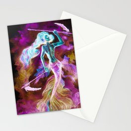 Galactic warrior Stationery Cards
