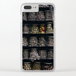 All The Jewels Clear iPhone Case