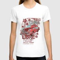 cuba T-shirts featuring Cuba Libre by Tshirt-Factory