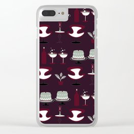 Sit and Celebrate Clear iPhone Case