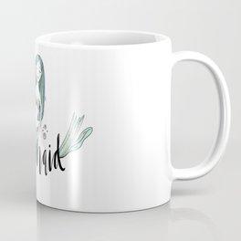 Art sleeping mermaid Coffee Mug