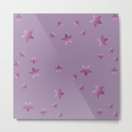 Periwinkle little star Metal Print