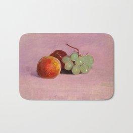 Still Life with Fruit by Odilon Redon, 1905 Bath Mat