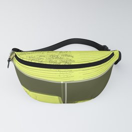 words Fanny Pack
