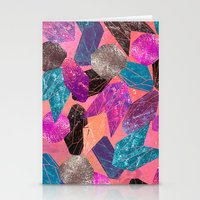 gem Stationery Cards featuring Gem Pop by Nikkistrange