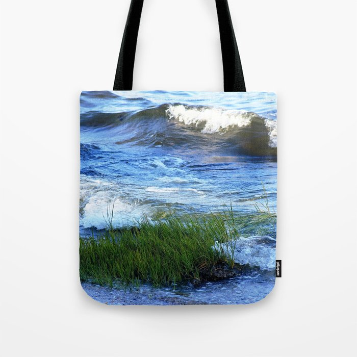 Soft Rolling Waves - 2 Tote Bag