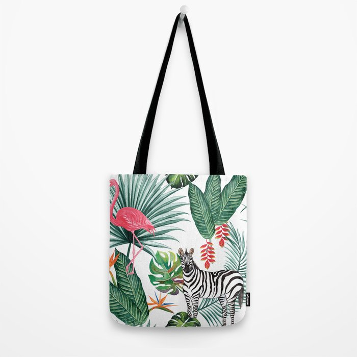 Nature Zebre pattern Tote Bag